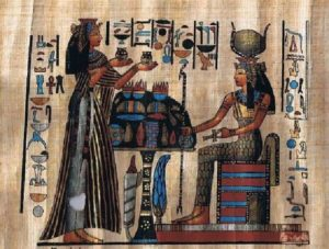 egyptians and oils